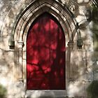 Red Door by Alfredo Estrella