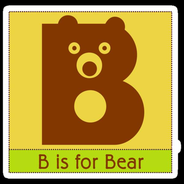 Bear Animal Alphabet by Zehda