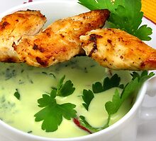 Parsley Soup And Chicken by SmoothBreeze7