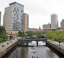 Providence Waterfront by John  Kapusta