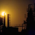 Industrial Sunset by Eve Parry
