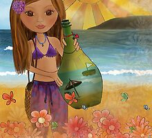 Bottle of Sea Breeze by Kristy Spring-Brown