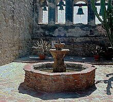 Mission San Juan Capistrano - Inside the Sacred Garden by Cupertino