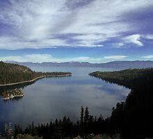 Emerald Bay Lake Tahoe by Cupertino