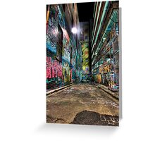 Hosier Lane Greeting Card