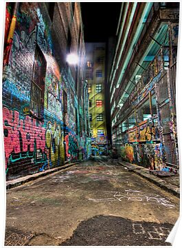 Hosier Lane by Alistair Wilson