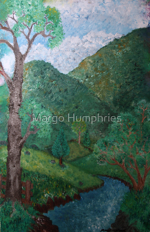 At the farm by Margo Humphries