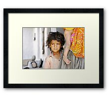 the boy who would be king Framed Print