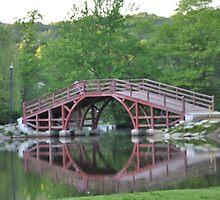 Albanian Bridge in Park by Petrit  Metohu