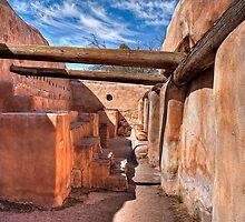 Grainery - At the Tumacacori Mission  by Lynn Geoffroy