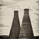 Updraught Bottle Kilns by Aggpup