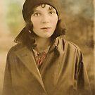 1932 Mum in France by Woodie