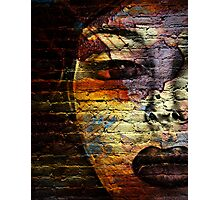 Woman on the Wall Photographic Print
