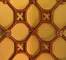 Ornate Ceiling, Ottery St Mary, Devon by wiggyofipswich