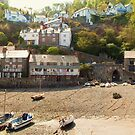 Clovelly - Devon  - Panorama 2010 by Simon Groves