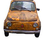 Rusty Fiat 500 by Intrepix