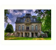 Matthews Mansion - Ellettsville, IN Art Print