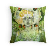 Materia: Earth Throw Pillow
