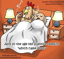 Chicken Or The Egg (Mature Audiences Only Please) by Rick  London