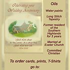 Christian Bookshop Postcard bubble site advertisement to Christian Bookshops by Phil413Jay