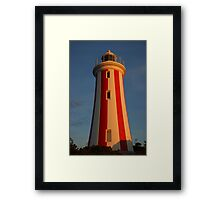 Let there be light... Framed Print