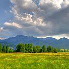 Mountain Herzogstandberg. Germany. by Daidalos