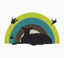 Deer Dawning by jemimalovesbigted