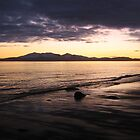 Arran Sunset by Kareena  Kapitzke
