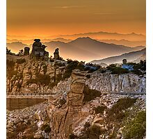 Near Windy Point on Mt Lemmon Hwy Photographic Print