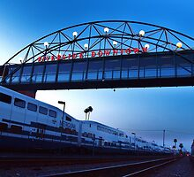 Riverside MetroLink Station, Calfornia by Stephen Burke
