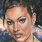 Doctor Who: Martha Jones by marksatchwillart