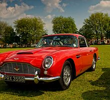 Aston Martin DB5 by David J Knight