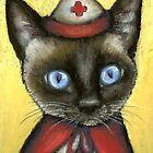 Nurse cat by tanyabond