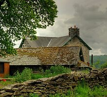 The Farmhouse At The End Of The Lane by VoluntaryRanger