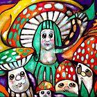 Mushroom Family by mikejohnson