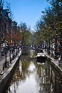 amsterdam canal, the netherlands by gary roberts