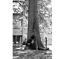 El violin Photographic Print