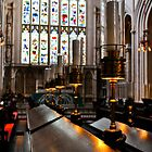 lamps, bath abbey, england by gary roberts