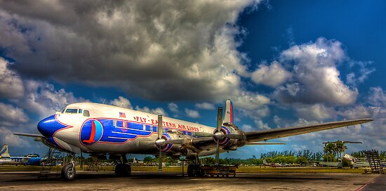 Eastern Airlines Vision of the Past by njordphoto
