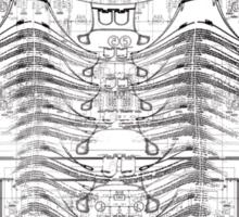 strukture VI Sticker