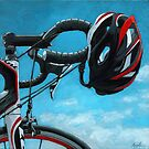 """Bicycle Art - """"Great Day"""" by LindaAppleArt"""