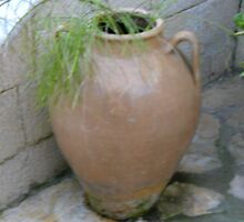 Greek plant pot by holly23