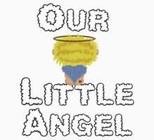 Our Little Angel Sitting on Cloud Blonde Kids Clothes