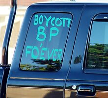 Boycott BP Fo'ever by angelandspot