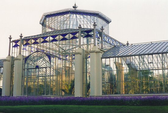 Historic Glasshouse, Adelaide by Michael John