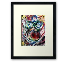 I Can Never Do Nothing Framed Print