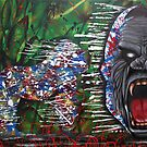 Gorilla Warfare by blacktearink