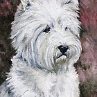 West Highland White Terrier by Charlotte Yealey