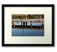 Peaceful Afternoon Reflections Framed Print
