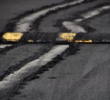 Bump in the ashen road... by Valerie Rosen